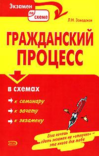 Гражданский процесс в схемах: Учебное пособие Завадская Л.Н.