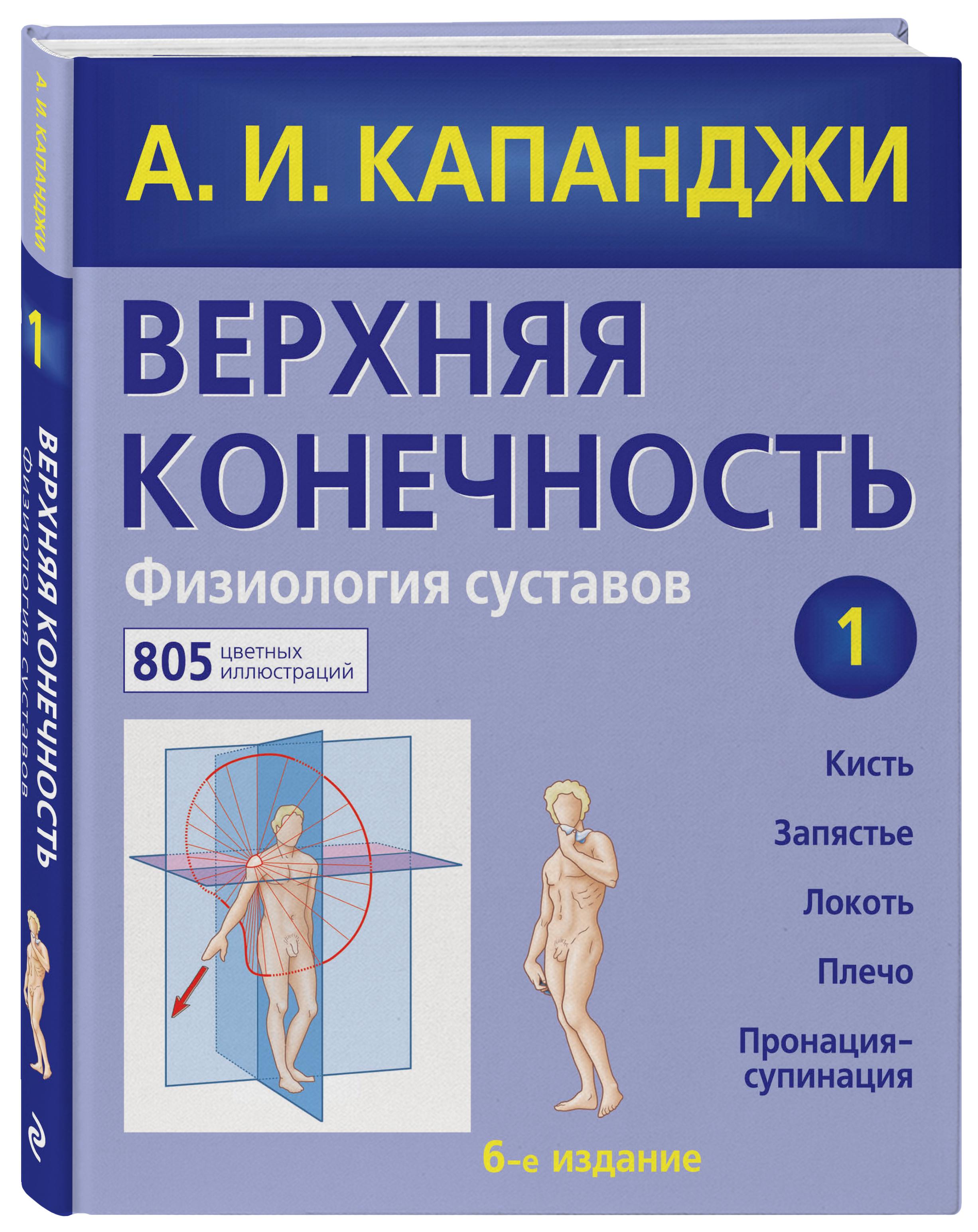 Капанджи А.И. Верхняя конечность. Физиология суставов капанджи а нижняя конечность функциональная анатомия