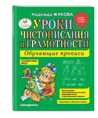 Надежда Жукова - Уроки чистописания и грамотности: обучающие прописи обложка книги