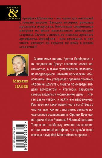 Серебряный ятаган пирата: роман Палев М.