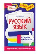 Н. Н. Борисов - Русский язык в схемах и таблицах' обложка книги