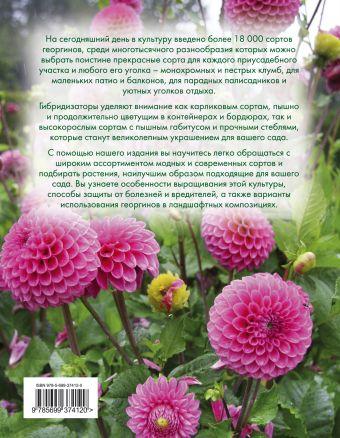Георгины (Вырубка. Цветы в саду и на окне) Рубинина А.Е.