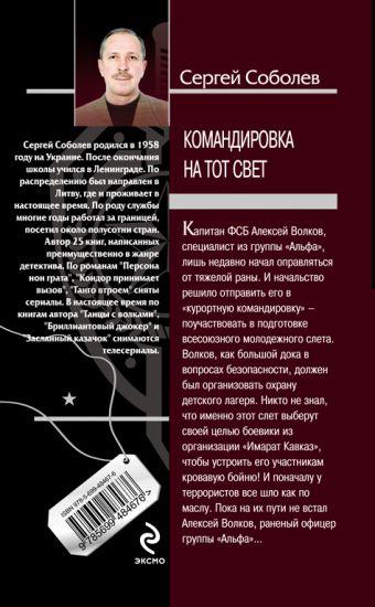 Командировка на тот свет: роман Соболев С.В.