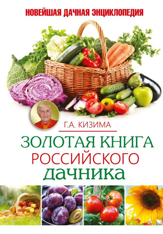 Г.А. Кизима - Золотая книга российского дачника обложка книги