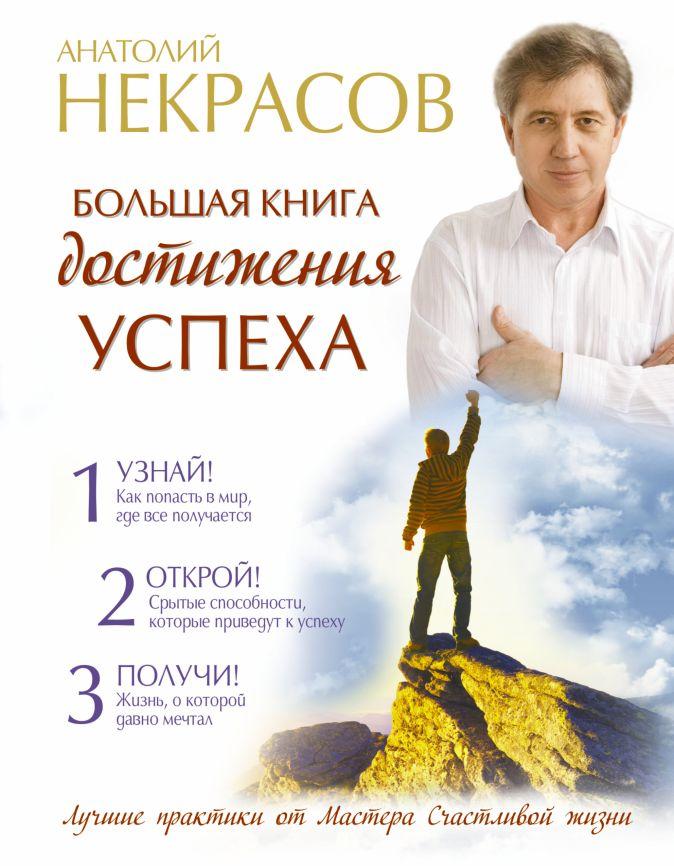 Анатолий Некрасов - Большая книга достижения успеха обложка книги
