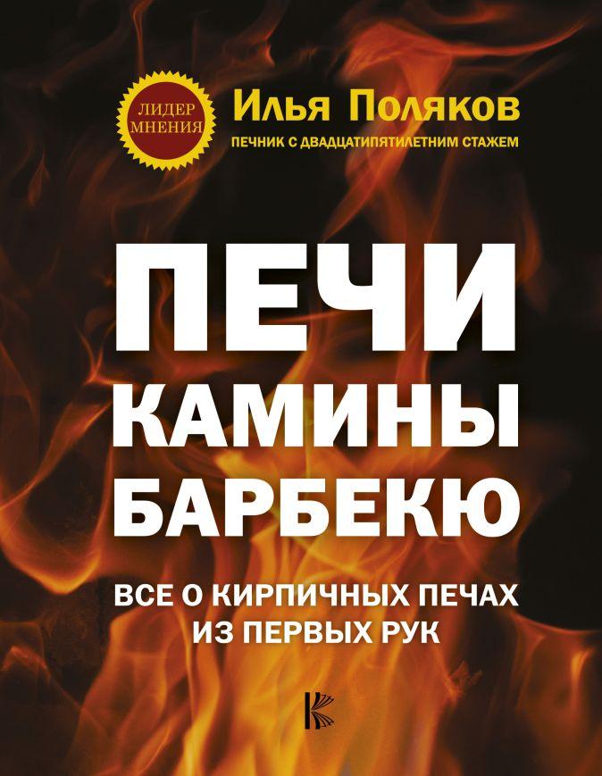 Поляков И.С. - Печи, камины, барбекю обложка книги