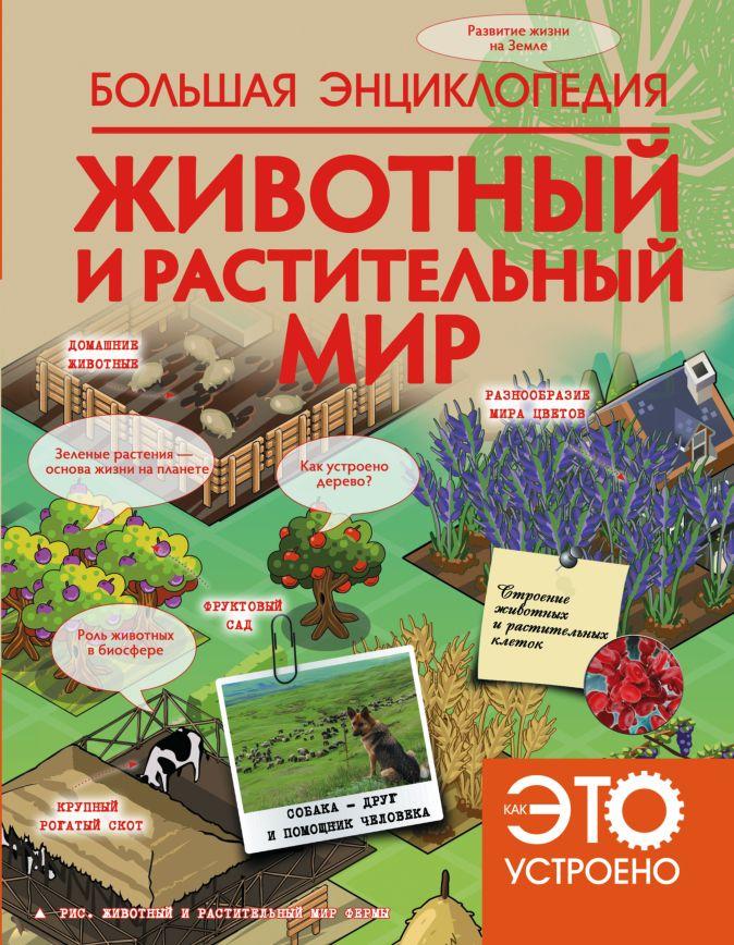Спектр В. - Животный и растительный мир обложка книги