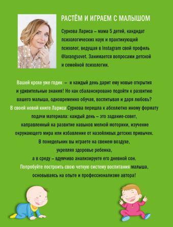 Растем и играем с малышом от 1 до 3 лет: развитие и воспитание каждый день Суркова Лариса