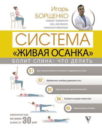 Борщенко И.А. - Болит спина: что делать. Система «Живая осанка» обложка книги