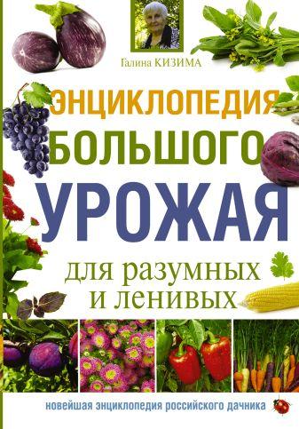 Г.А. Кизима - Энциклопедия большого урожая для разумных и ленивых обложка книги