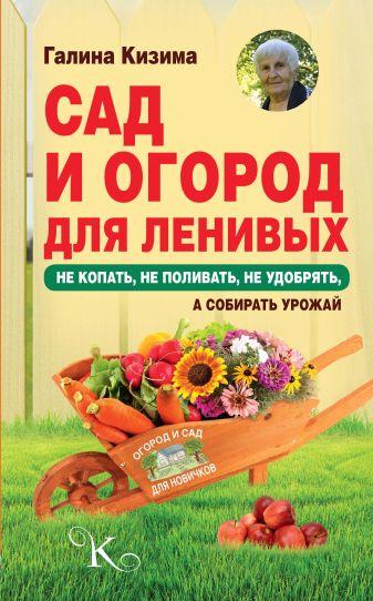 Кизима Г.А. - Сад и огород для ленивых. Не копать, не поливать, не удобрять, а собирать урожай обложка книги