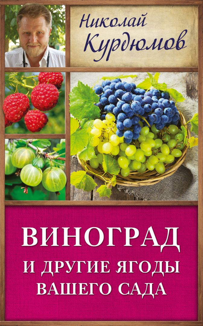 Курдюмов Н.И. - Виноград и другие ягоды вашего сада обложка книги
