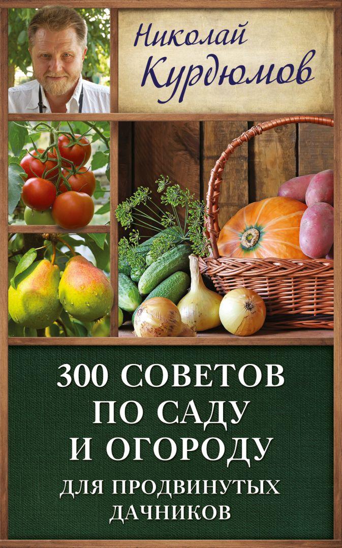 Курдюмов Н.И. - 300 советов по саду и огороду для продвинутых дачников обложка книги