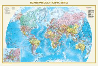 Политическая карта мира. Федеративное устройство России А0 .