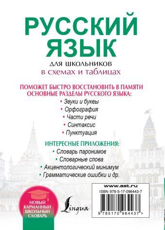 Русский язык для школьников в схемах и таблицах Ф. С. Алексеев