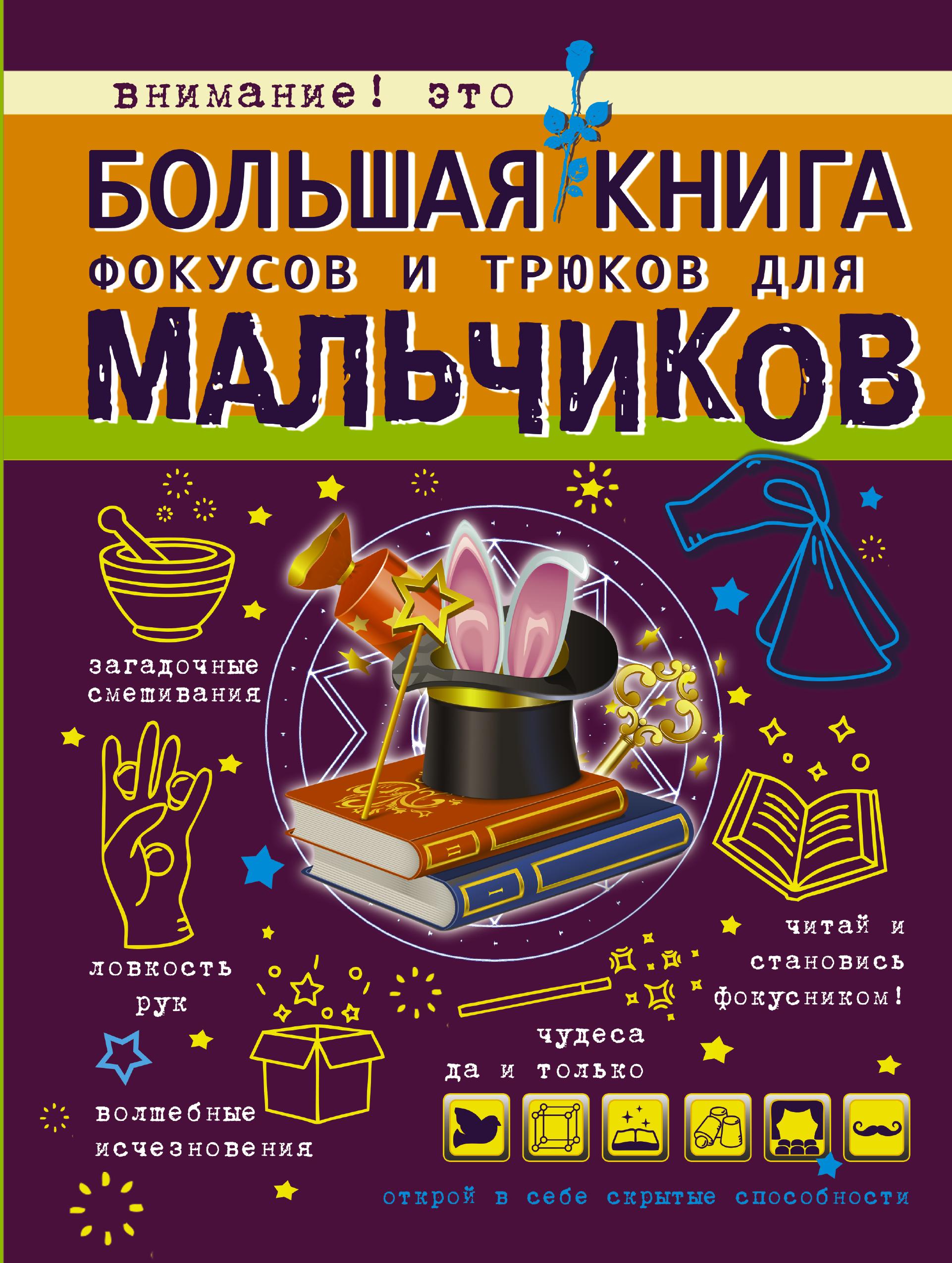 В. Ригарович Большая книга фокусов и трюков для мальчиков виктория ригарович большая копилка фокусов и трюков
