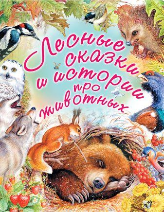 Паустовский К.Г. - Лесные сказки и истории про животных обложка книги