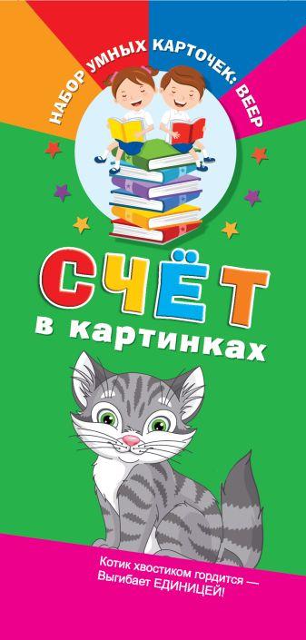 Виноградова Е. - Счёт в картинках обложка книги