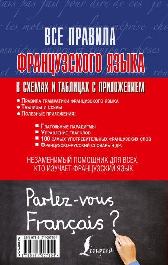 Все правила французского языка в схемах и таблицах с приложениями Г.В. Костромин