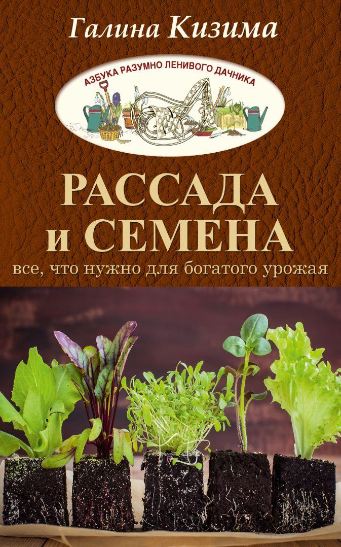 Кизима Г.А. - Рассада и семена. Все, что нужно для богатого урожая обложка книги