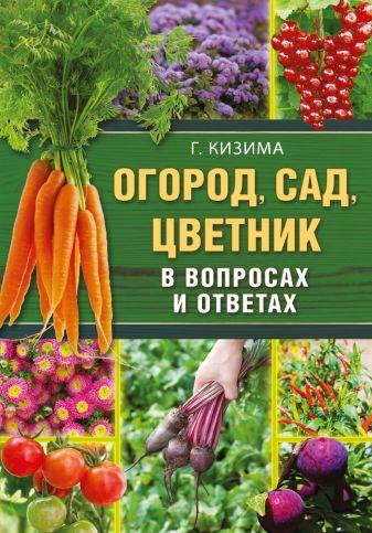 Г.А. Кизима - Огород, сад, цветник в вопросах и ответах обложка книги