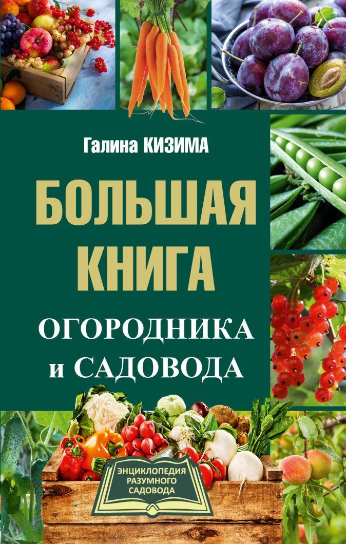 Кизима Г.А. - Большая книга огородника и садовода обложка книги