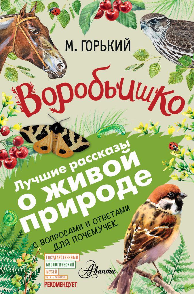 М. Горький - Воробьишко обложка книги