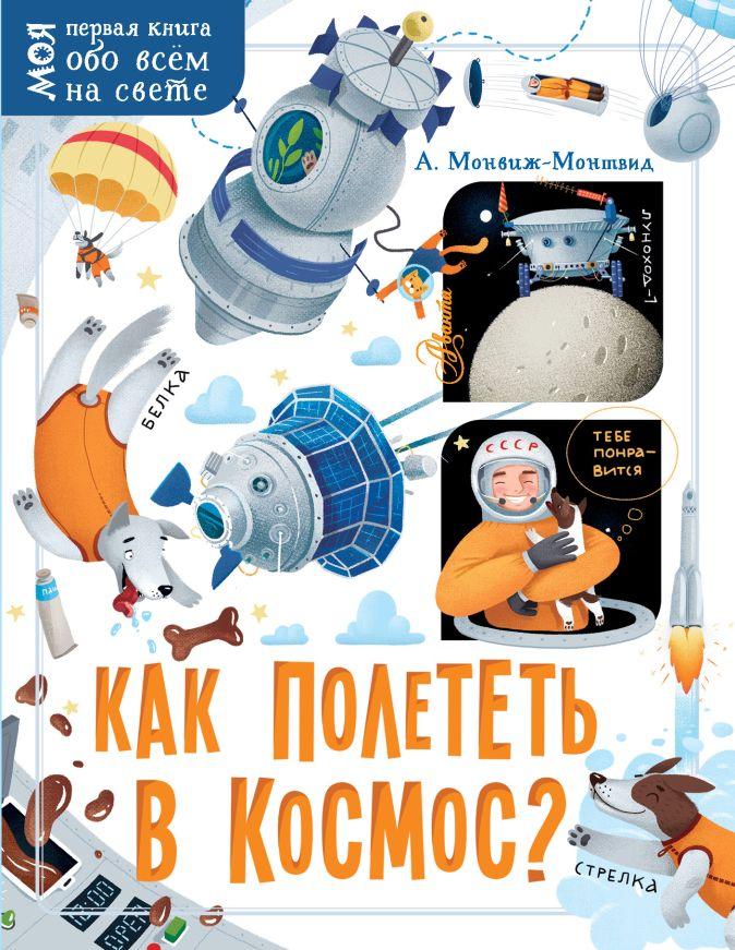 Монвиж-Монтвид А.И. - Как полететь в космос? обложка книги