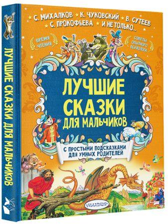 Терентьева И.А., Сутеев В.Г., Михалков С.В. - Лучшие сказки для мальчиков обложка книги