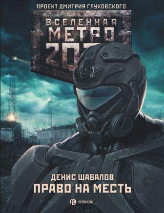 Денис Шабалов - Метро 2033: Право на месть обложка книги