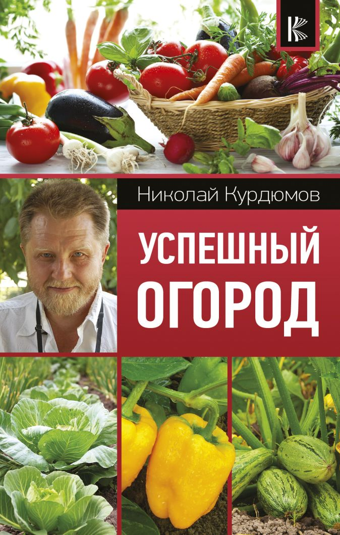 Курдюмов Н.И. - Успешный огород обложка книги