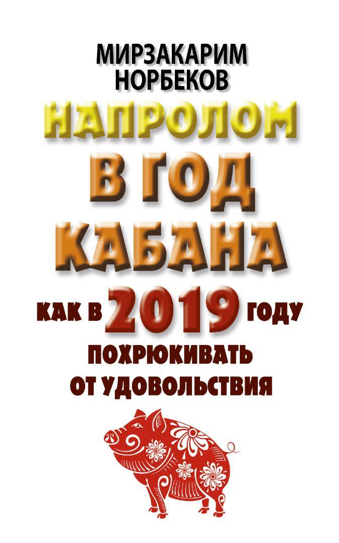 Норбеков М.С. - Напролом в год Кабана: как в 2019 году похрюкивать от удовольствия обложка книги
