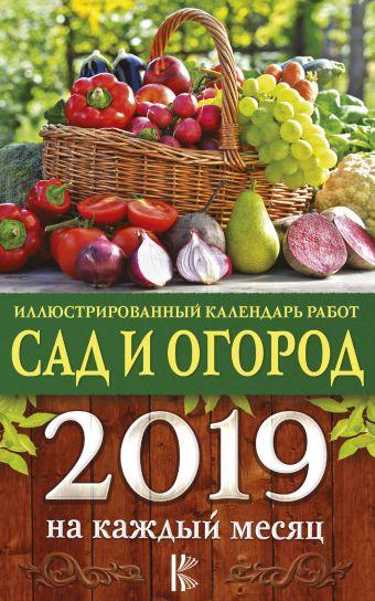 Иллюстрированный календарь работ в саду и огороде на каждый месяц 2019 года Слуцкая Е.С.