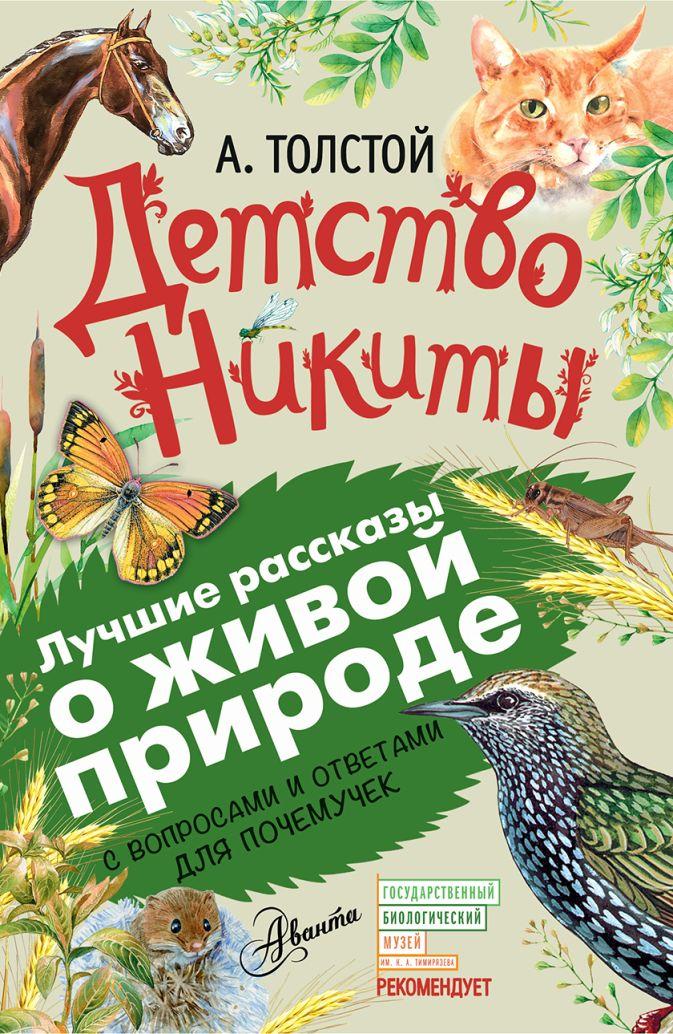 Толстой А.Н. - Детство Никиты обложка книги