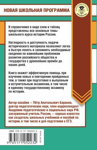 История России в таблицах и схемах. Справочное пособие. 10-11 классы Баранов П.А.