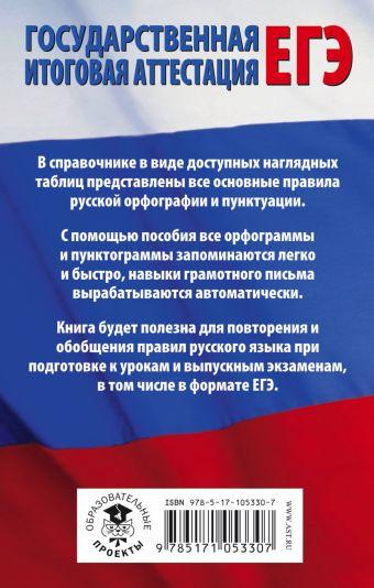 ЕГЭ. Русский язык в таблицах. 10-11 классы без автора
