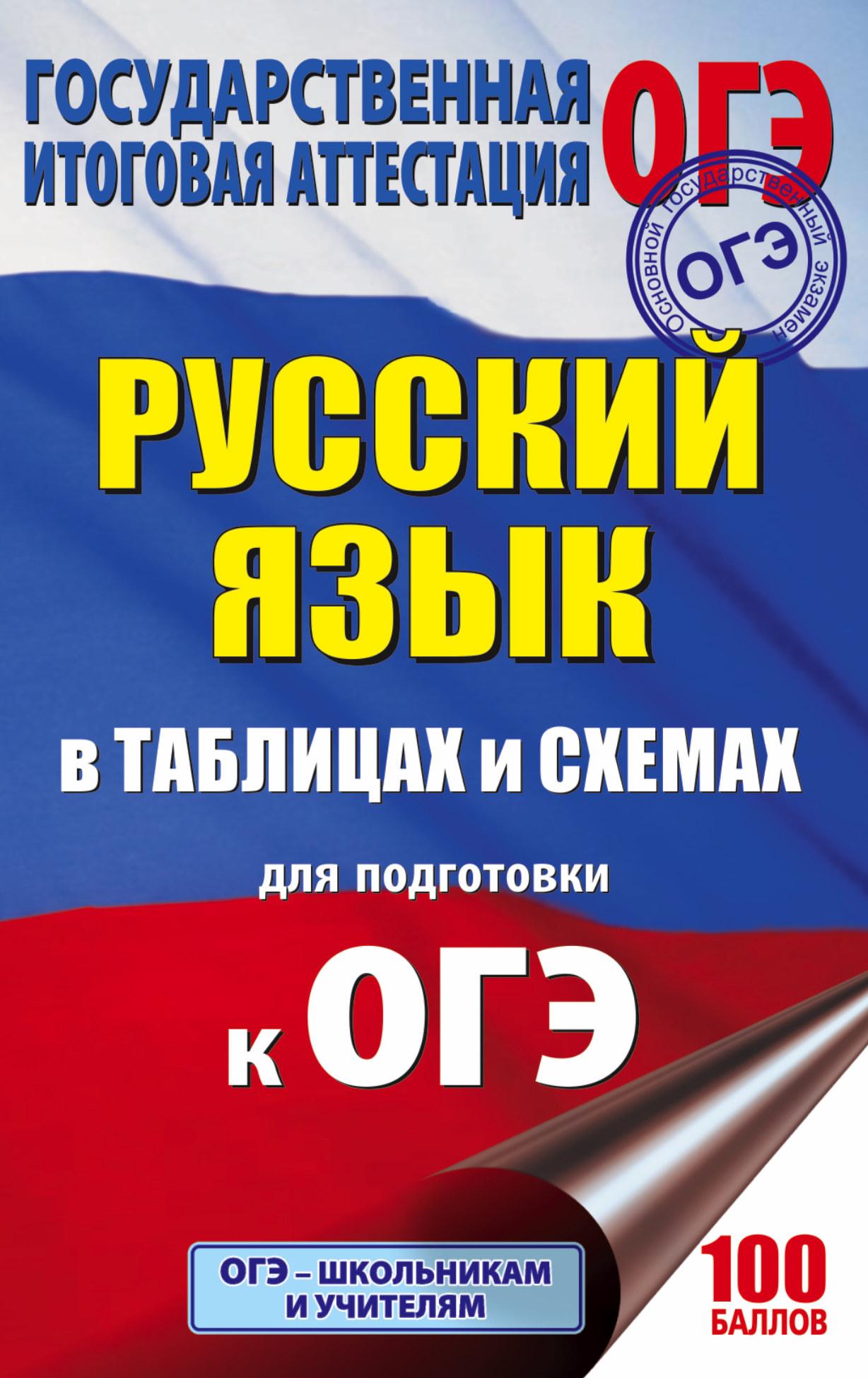 Текучева И.В. ОГЭ. Русский язык в таблицах и схемах. 5-9 классы