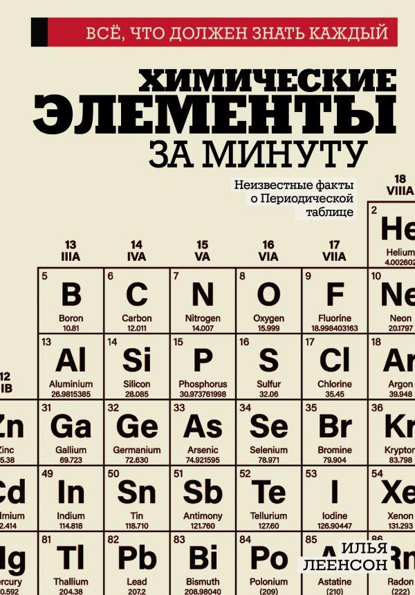 Фото - Леенсон Илья Абрамович Химические элементы за минуту леенсон и химические элементы за минуту неизвестные факты о периодической таблице