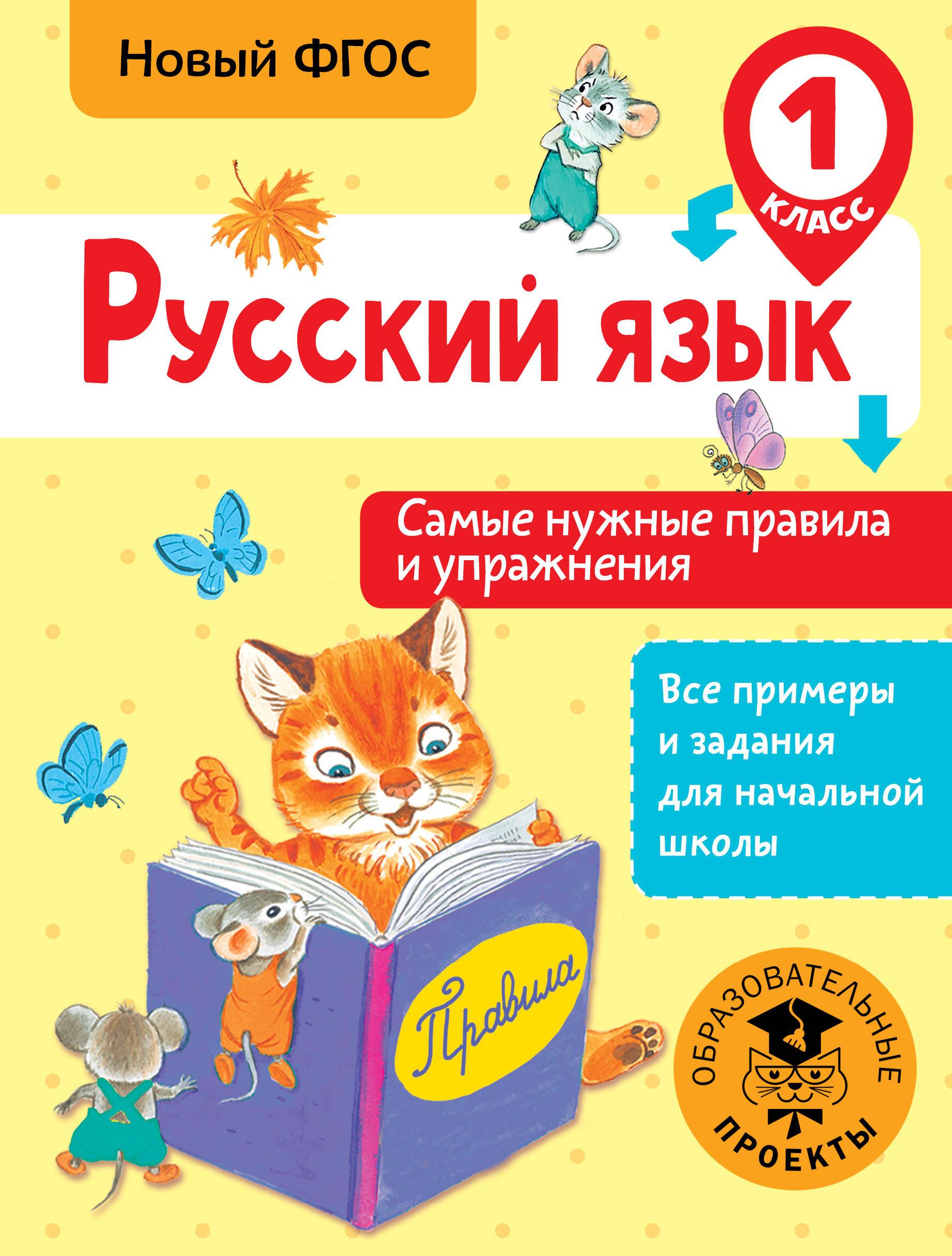 Русский язык. Самые нужные правила и упражнения. 1 класс ( Шевелёва Наталия Николаевна  )
