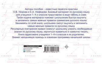 Таблицы по русскому языку. Все виды разбора Узорова О.В., Нефедова Е.А.