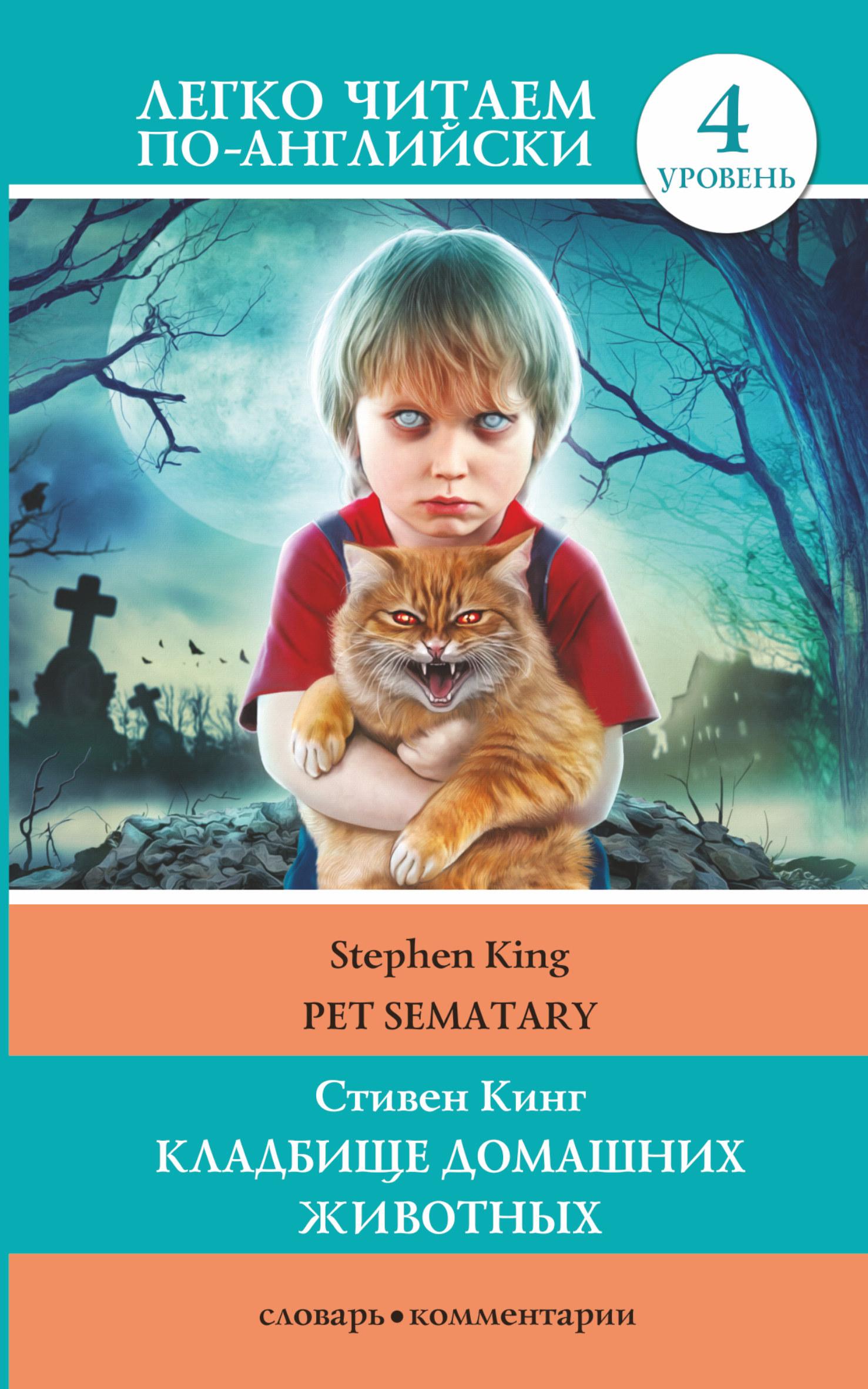 Кладбище домашних животных. Уровень 4 ( Кинг Стивен  )