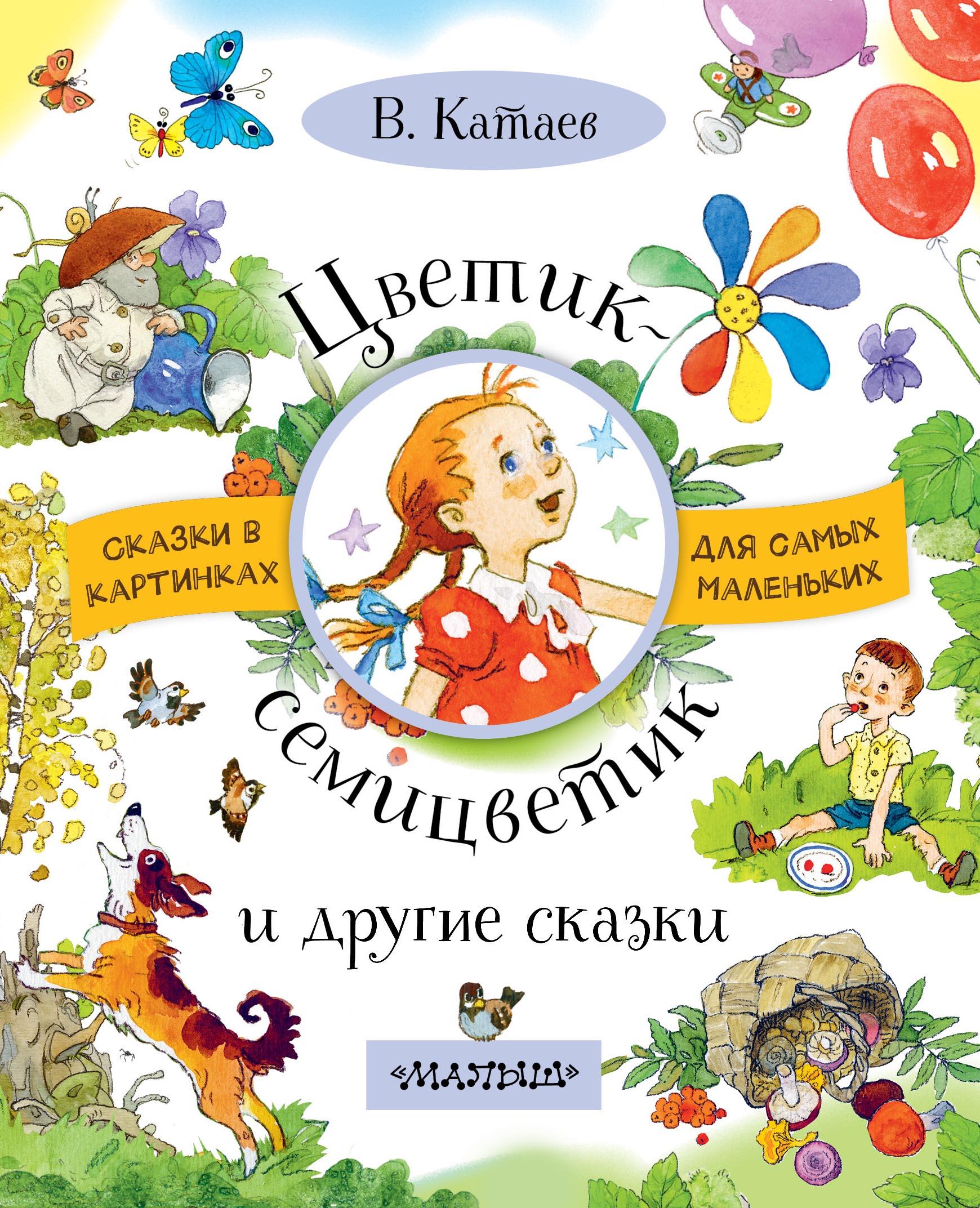 Катаев В.П. Цветик-семицветик и другие сказки катаев валентин петрович дудочка и кувшинчик