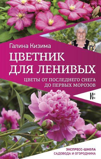 Кизима Г.А. - Цветник для ленивых. Цветы от последнего снега до первых морозов обложка книги
