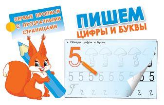 Дмитриева В.Г. - Пишем цифры и буквы обложка книги