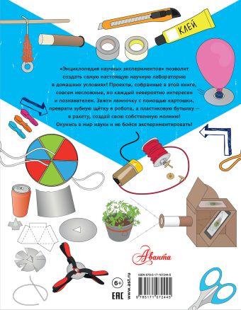 Энциклопедия научных экспериментов: свет, электричество, сила, движение, вещества Роб Айвз