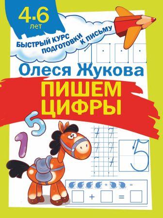 Олеся Жукова - Пишем цифры обложка книги