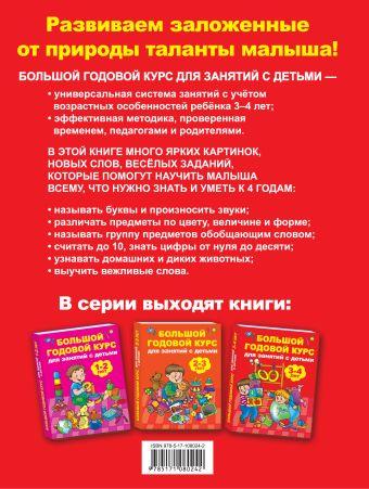 Большой годовой курс для занятий с детьми 3-4 года Матвеева А.С.