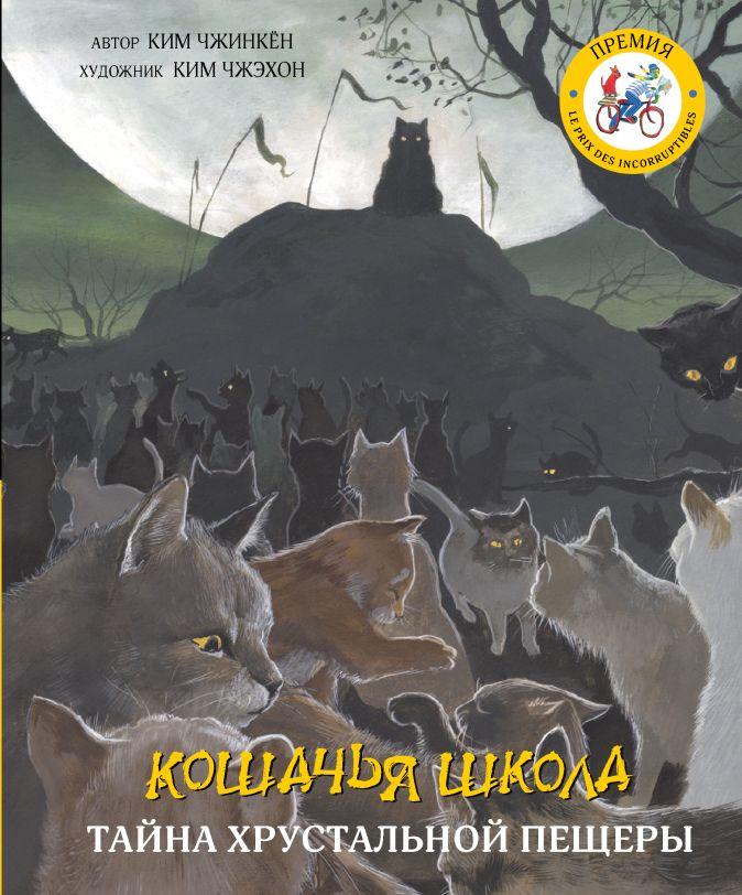 Ким Чжинкён, Ким Чжэхон - Кошачья школа: Тайна хрустальной пещеры обложка книги