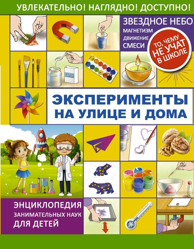 К. Аниашвили, М. Талер - Эксперименты на улице и дома обложка книги