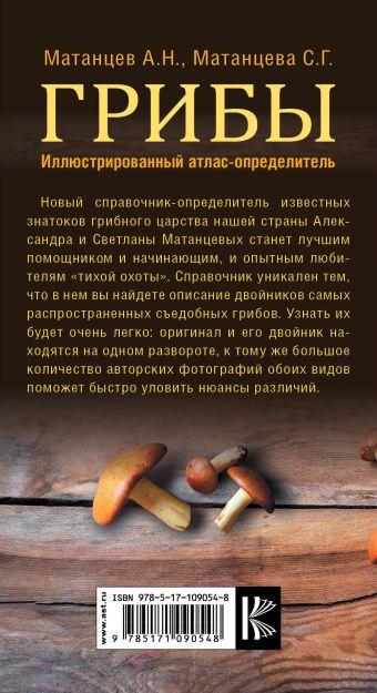 Грибы. Иллюстрированный атлас-определитель Матанцев А.Н., Матанцева С.Г.